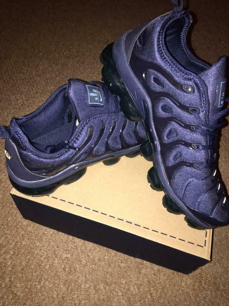 786be20841 SIZE 6 7 8 9 10 11 BRAND NEW NIKE VAPORMAX BOXED TRAINERS BLUE (NOT) tn 90  110 95 97 AIR