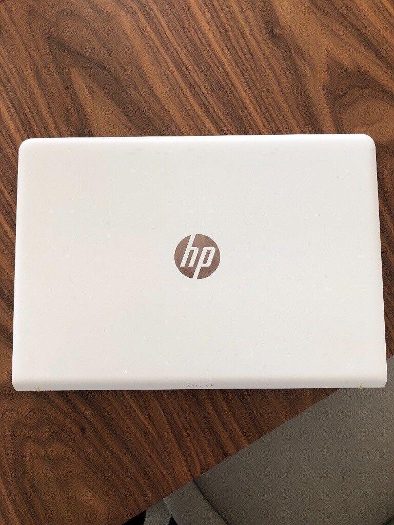 hp rose gold laptop