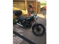 Lexmoto zsb cruiser style 125 cc motorbike