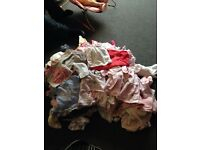 Newborn up to 3 months baby girl clothes