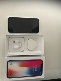 iPhone X 256gb on EE used once