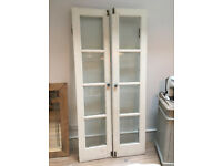 French doors - solid wood & glazed panels