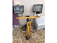 Tools for sale!! Grinder, transformer, light and dewalt Hoover