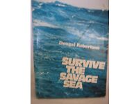 Sailing Book – SURVIVE THE SAVAGE SEA -DOUGAL ROBERTSON