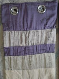 Fully lined curtains in excellent condition