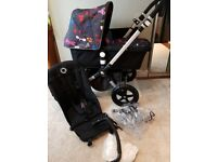 Bugaboo cameleon 3 . Mint condition. Andy Warhol happy bugs.