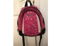 Jansport pink mini rucksack