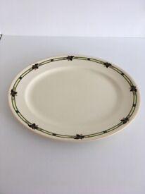 Burleigh Ware Large Plate