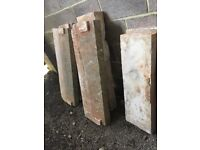 Stone cills from Victorian house 4 matching £80.00 each