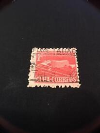 Stamp Cuba Palacio de Comunicaciones.