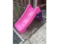 Toddler pink slide