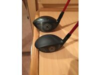 Callaway xr16 driver and 3 wood both mint stiff shafts