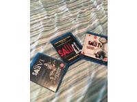 Saw Blu Ray Dvd's