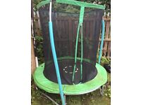 FREE TO PICK UP! kids trampoline and chute both in good condition