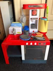 Kids cooker and pits