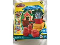 Play doh the three little pigs