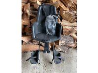 Bobike rear mounted toddler bike seat