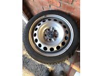 4 excellent condition Nankang winter tyres on steel rims (205/45/R16) to fit Mazda MX5