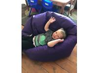 XL indoor/outdoor beanbag chair