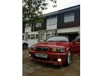 Bmw e46 330ci m sport imolared red good condition swap px for something with smaller engine