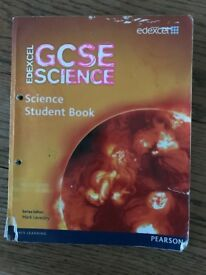 Edexcel GCSE Science Student Book Good Used Condition