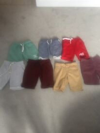 A bag full of boys clothes, trainers, jackets in excellent condition, age 6-7!