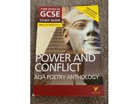 York Notes GCSE 'Power And Conflict' for AQA Poetry Anthology