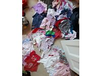 Enormous bundle of 3-6 month baby girl clothes