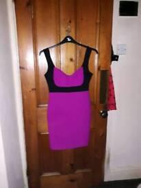 River island bodycon dress size 12