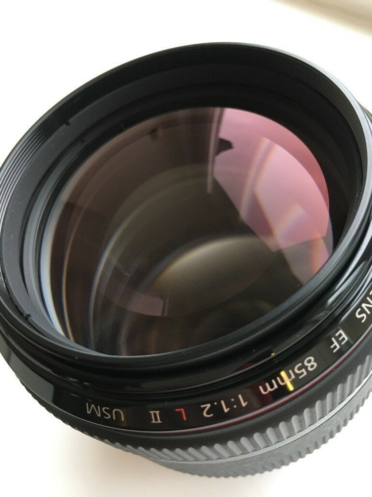 Canon EF 85mm f/1.2L II USM - Mint Condition