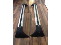 Ford Focus Estate Roof Rack Crossbars With 'C' Track Fitment From 2004 To 2008