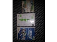 3x Nintendo Wii Games Wii sports, Wii Sports Resort & Wii Fit Can Be Used on Wii U