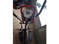Marcy cross trainer with digital display