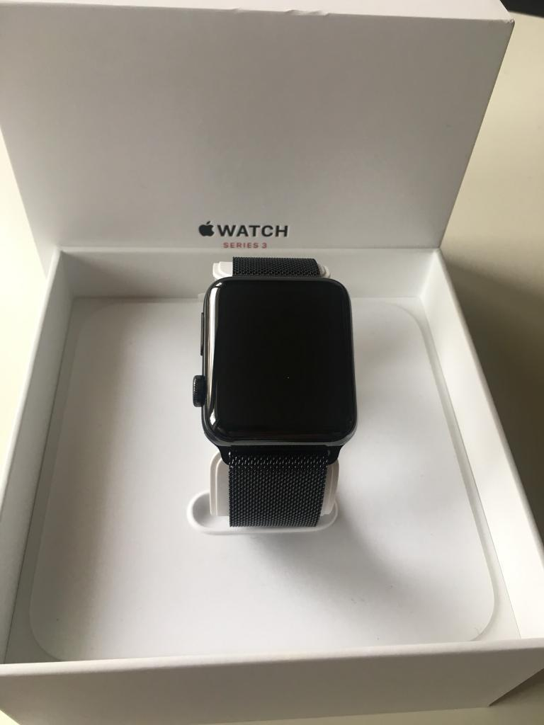 apple watch series 3 gps and cellular space black