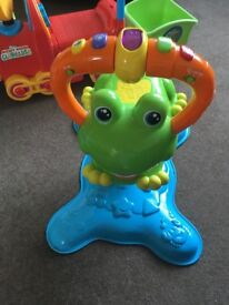 Vtech Bounce and Discovery Frog