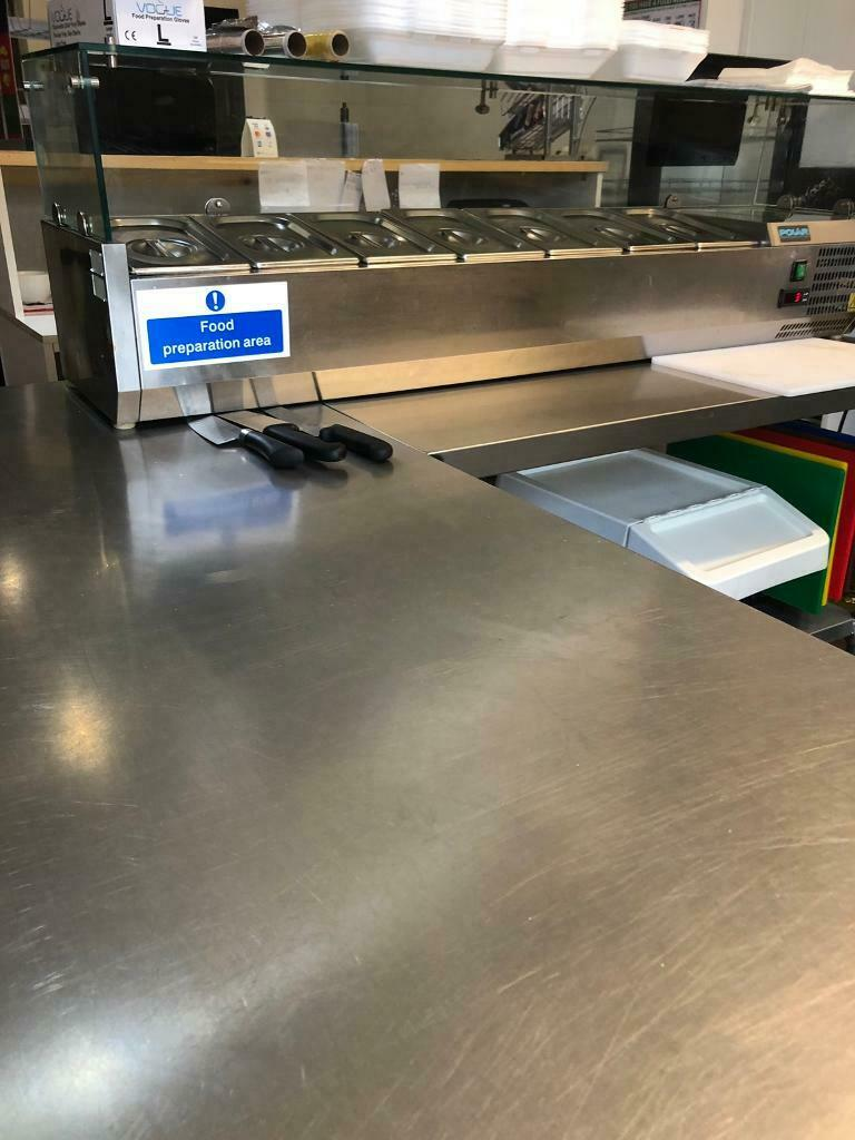 Groovy Stainless Steel Prep Work Benches Cafe Catering Restaurant Bistro Commercial In East End Glasgow Gumtree Cjindustries Chair Design For Home Cjindustriesco
