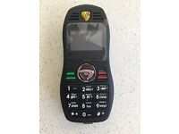 Small amazing mobile phone with camera on Porsche Key ring look
