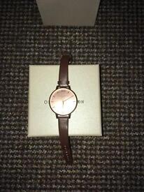 Olivia Burton Rose Gold Watch