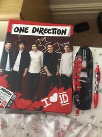 One direction bag.