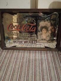 Coco-Cola Retro Mirror