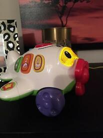 Vtech aeroplane light up and music with pull string