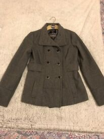 Classic Atmosphere Wool-Blend Peacoat for Women