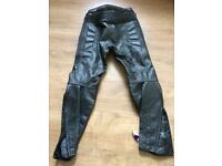 Akito - G Force leather trousers (size 10)