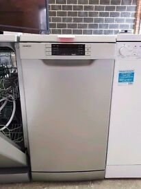 Silver A++ Class KENWOOD 9 Place Setting Slimline Dishwasher in New Condition