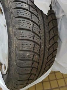 225/55r16 GISLAVED NORD FROST avec roue 5x108