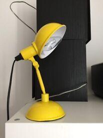 Yellow desk Lamp ON SALE