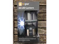 LED light suitable for tents, caravans, awnings etc