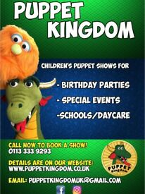 Puppet Kingdom - Puppet shows and puppet-making workshops for your special events