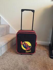 Small Spider-Man suitcase