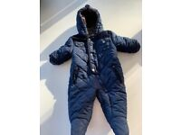 Rothschild Winter Snowsuit for 3-6 month Boy Snow Suit Jacket Insulated